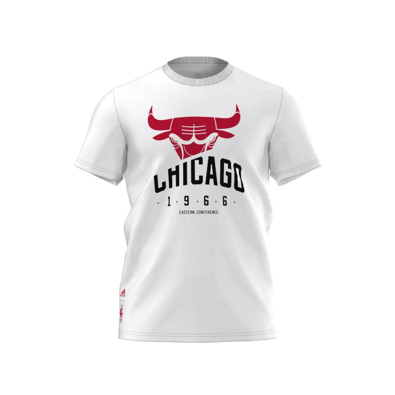 T Basketball Bulls Basics Shirtwhite Chicago Adidas wvnmN80