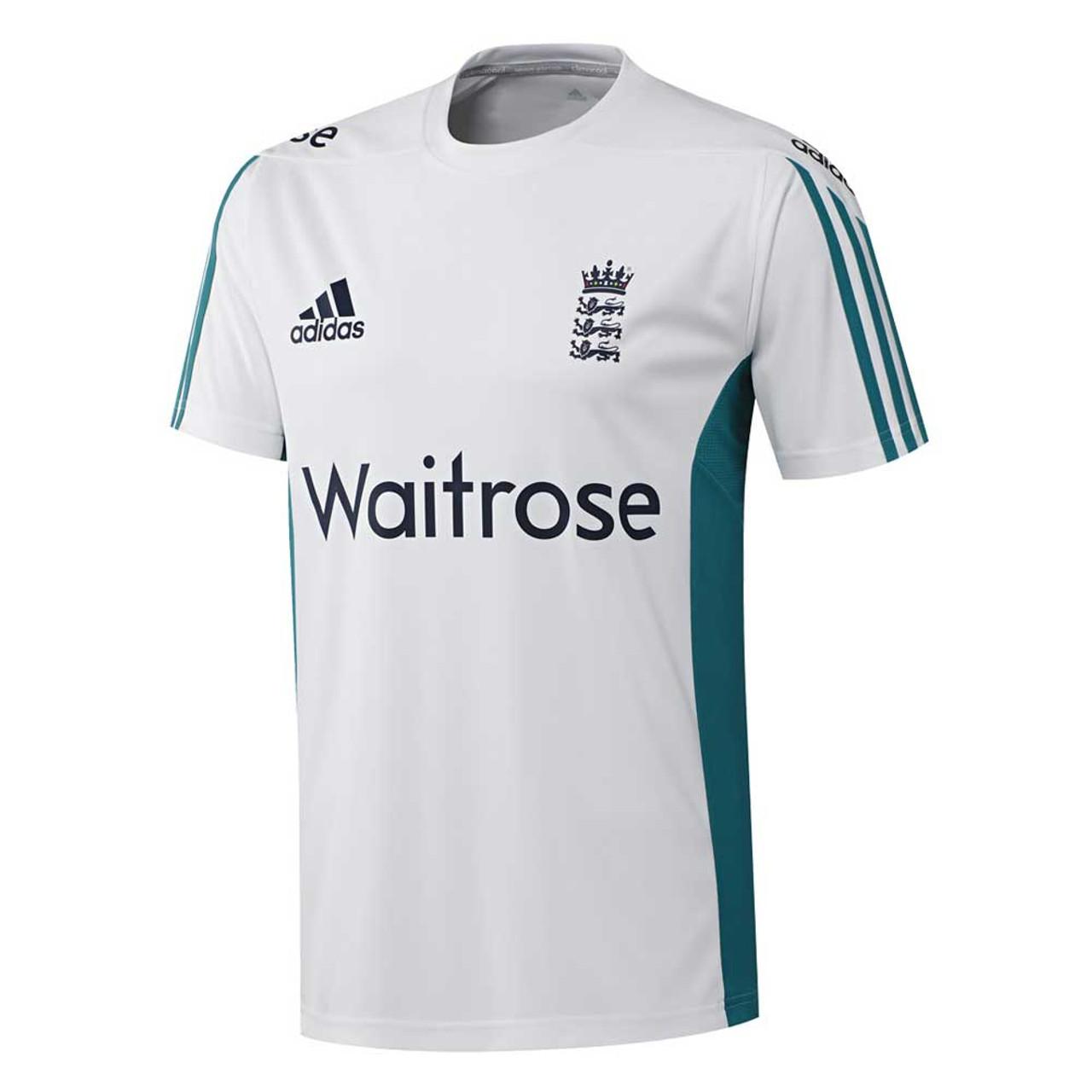 a6d616f20fc3 ADIDAS england cricket ECB training t-shirt  white