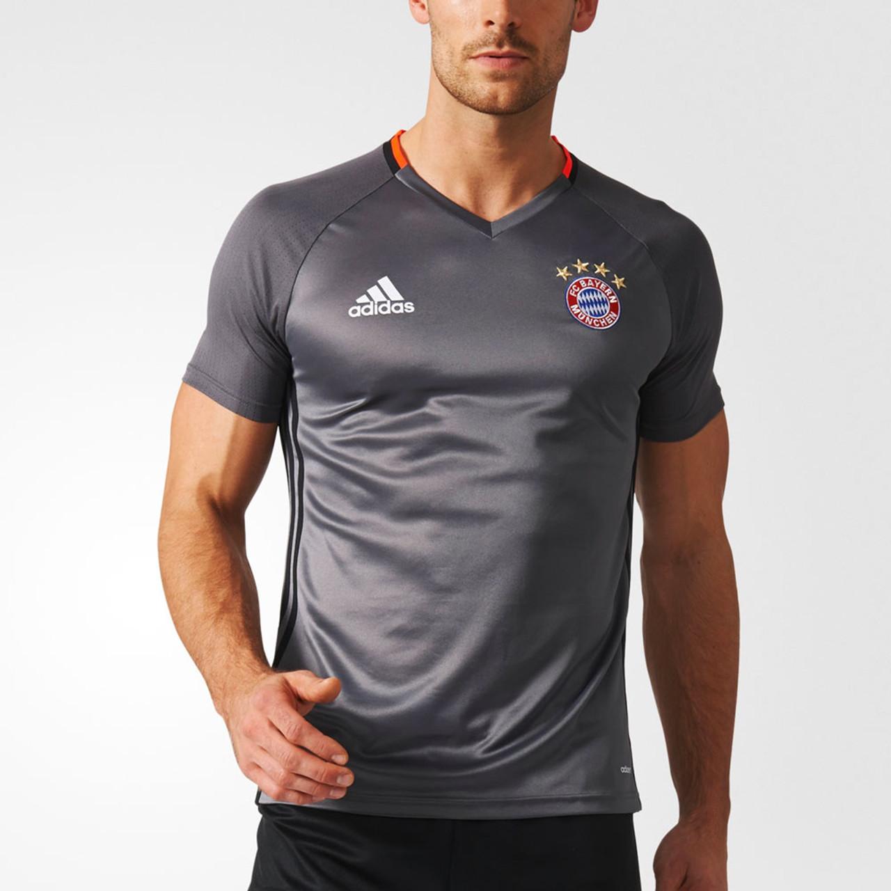 huge discount 5e90c 4dbc8 ADIDAS bayern munich football (FCB) training jersey [grey]