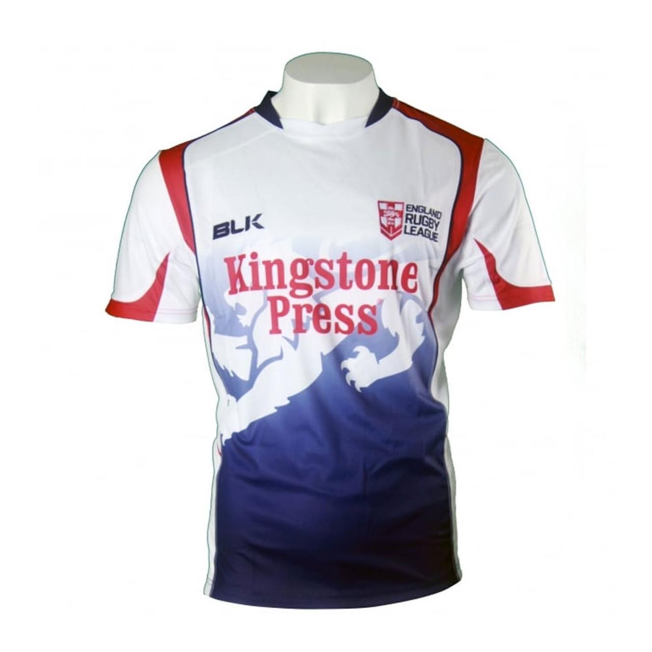 66925e30904 England Rugby League Shirt 2017
