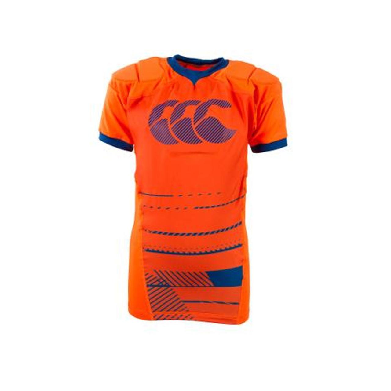 afb8bb202 CCC vapodri raze vest rugby protective vest kids  orange