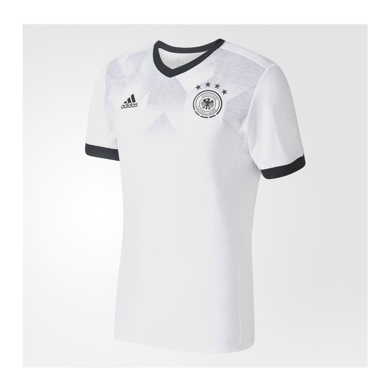 ef8b853473d ADIDAS germany football pre-match jersey  white