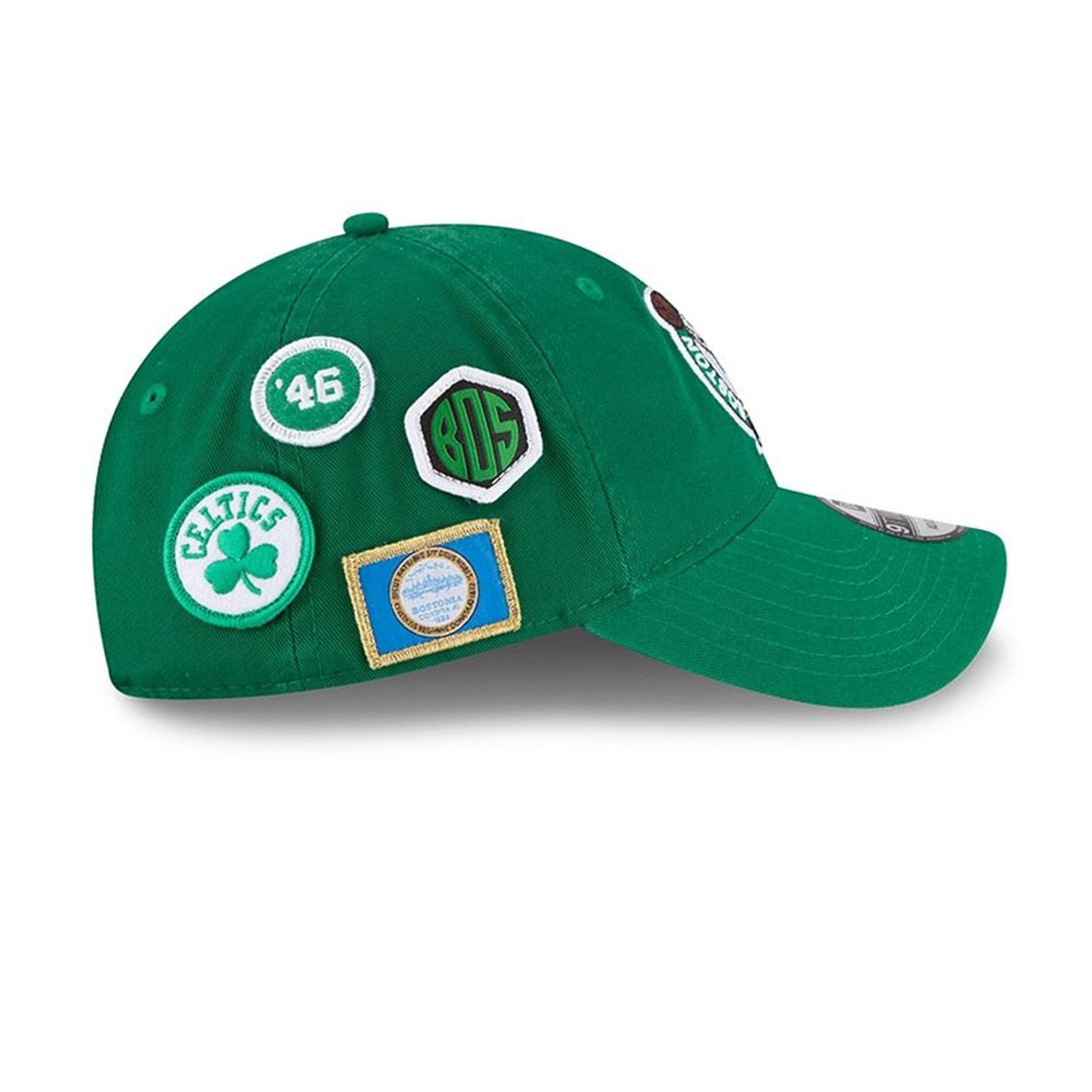 competitive price 543f9 9f306 ... NEW ERA boston celtics 9twenty adjustable NBA basketball draft cap   green  ...