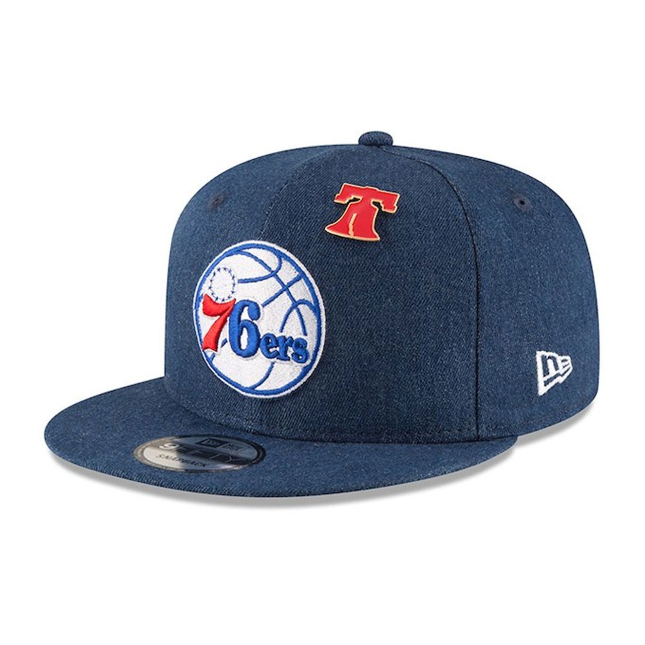 NEW ERA philadelphia 76ers 9forty adjustable NBA basketball league cap   royal  849cea277241