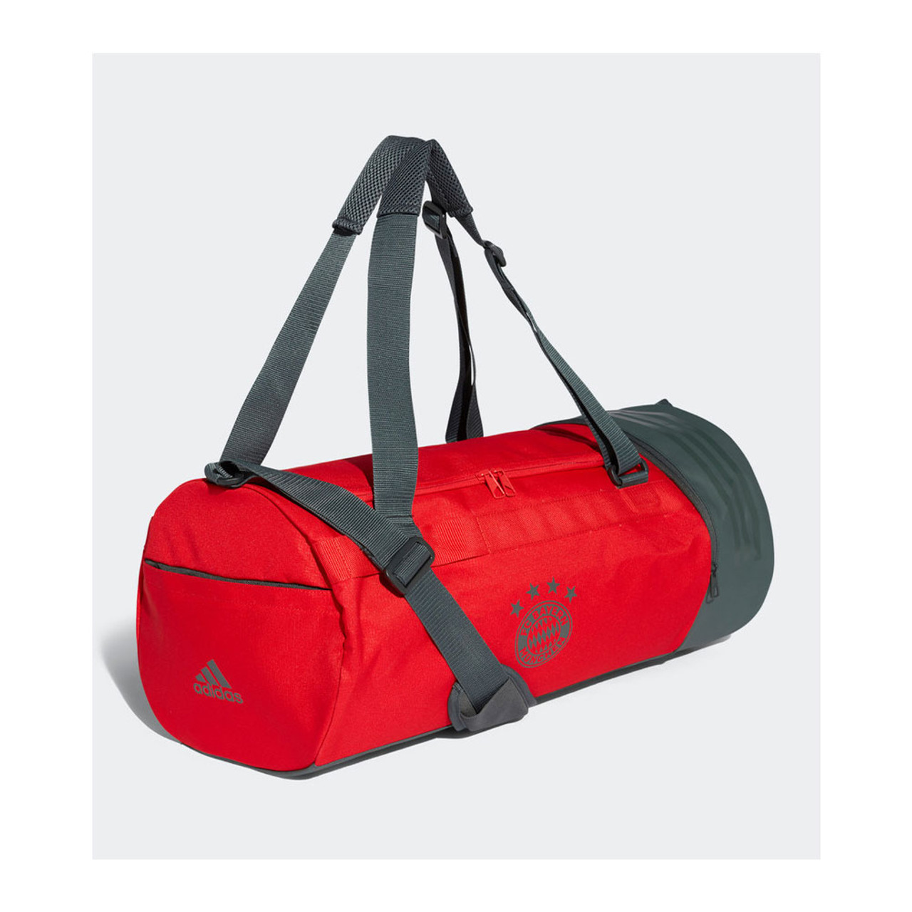 11a8c4919dd8 ADIDAS Bayern Munich football holdall duffle bag  red  - Eggcatcher Rugby  (UK)