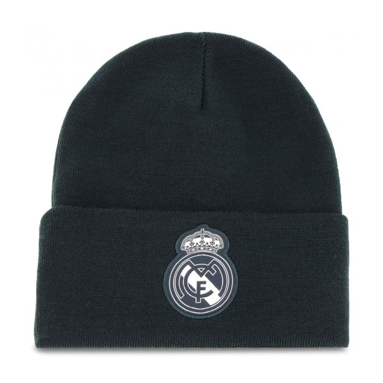 3e3545a52b4 ADIDAS Real Madrid football beanie hat  black