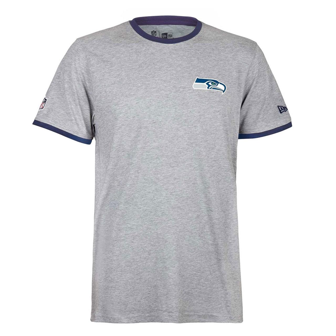NEW ERA Seattle Seahawks Team Tee Shirt  grey  dcabeb335