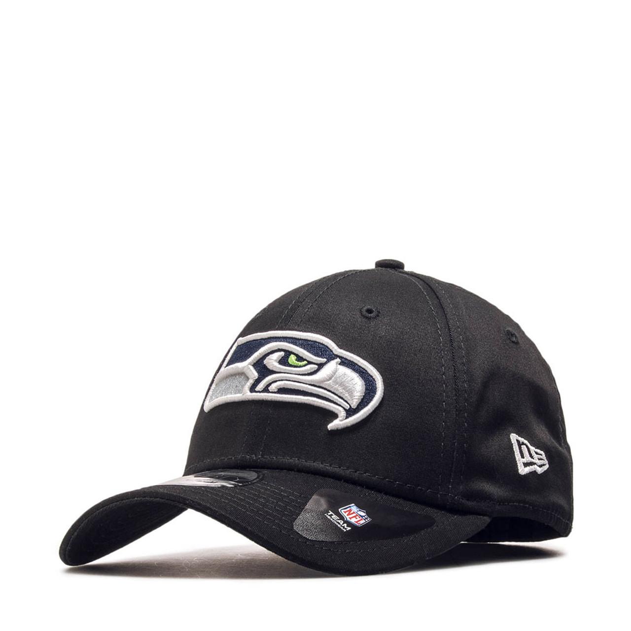 NEW ERA Seattle Seahawks 39thirty Team cap  black  6a8a04387