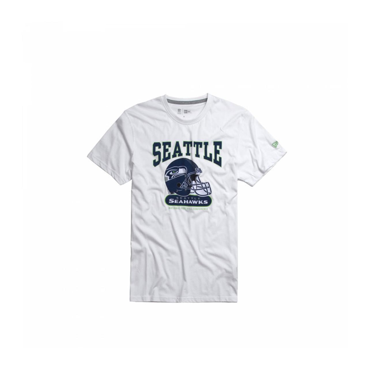 NEW ERA Seattle Seahawks NFL Archie Tee Shirt  white  426403ed2