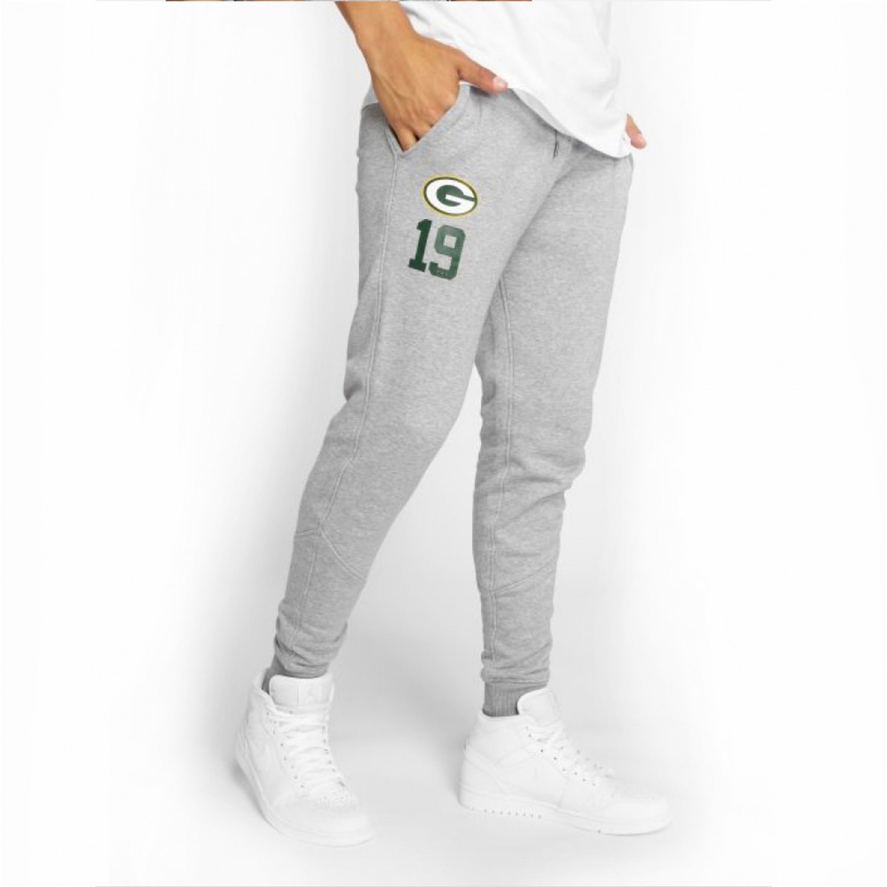 NEW ERA Green Bay Packers NFL Number track pant [grey]