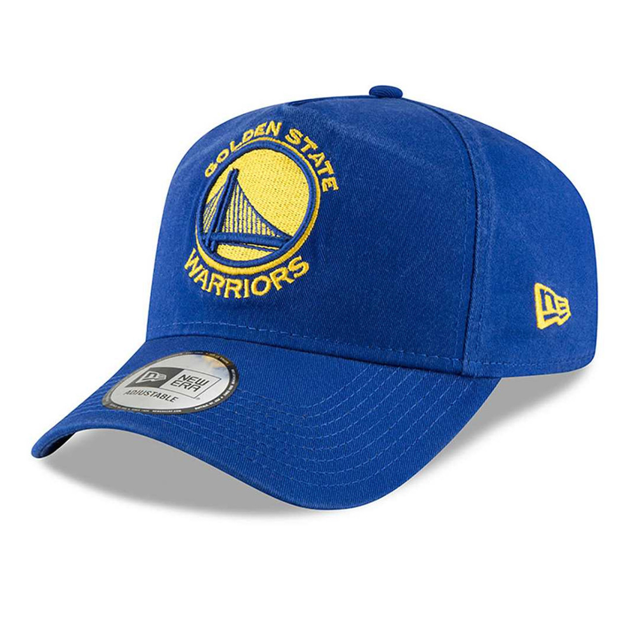 new arrival 473b2 57ef3 NEW ERA golden state warriors adjustable NBA basketball cap  aframe blue
