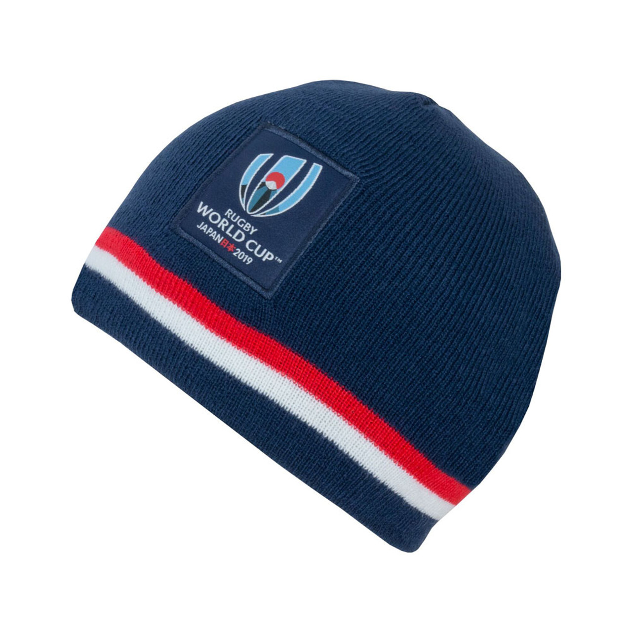 3c2fb37048f RWC 2019 Stripe Beanie Hat  navy