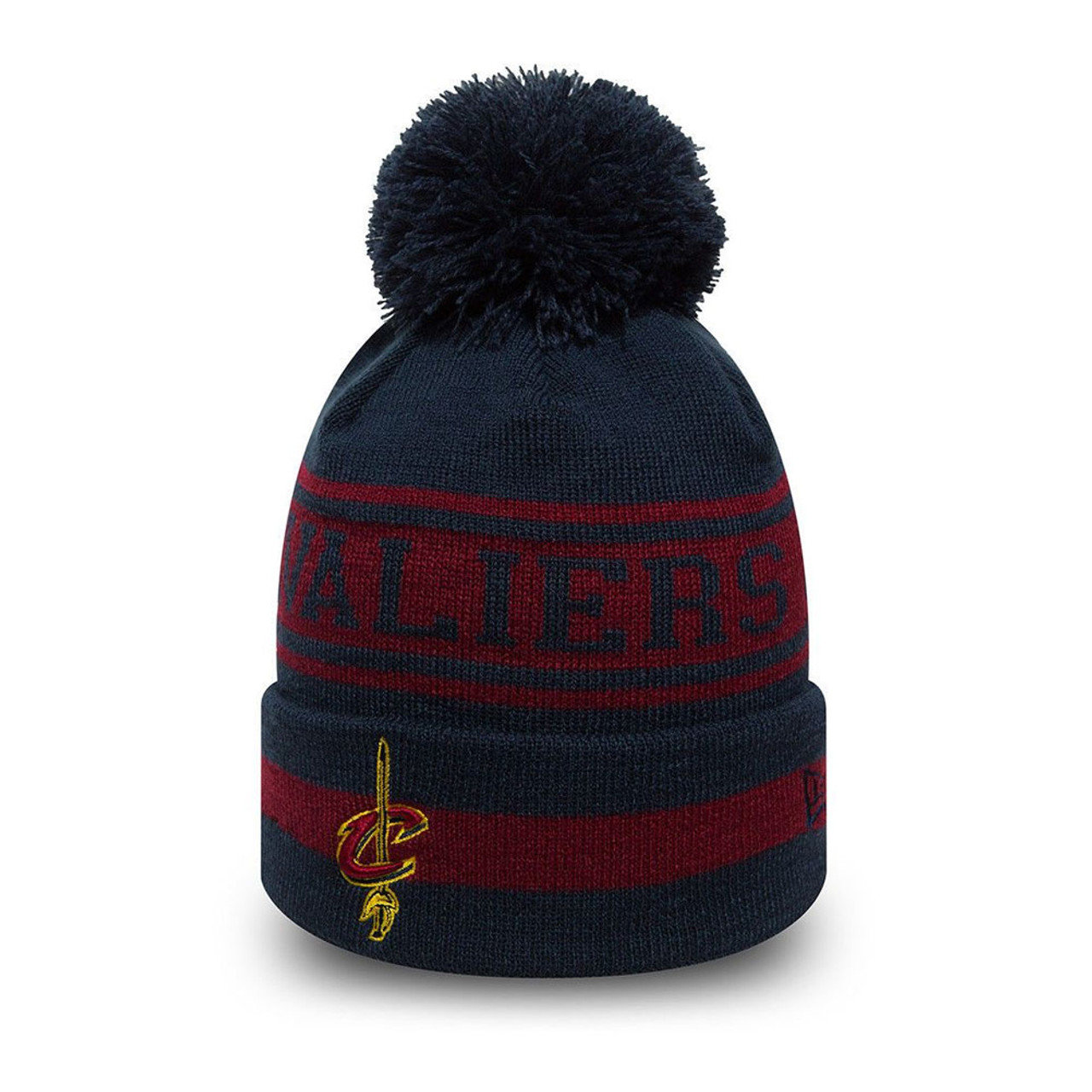 0252a76a6ab1b9 NEW ERA Cleveland cavaliers NBA Team Jake beanie hat [navy ...
