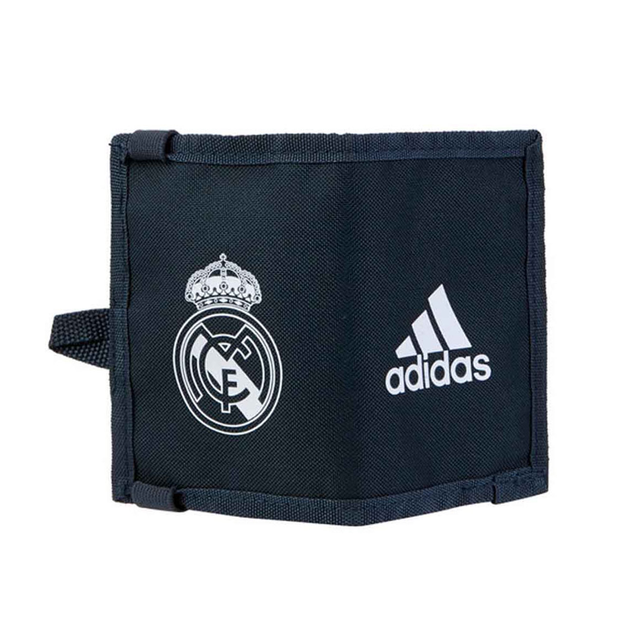 6ae43c7dfc659 ADIDAS Manchester United MUFC wallet  black red ADIDAS Real Madrid 2018 19  Wallet  dark grey
