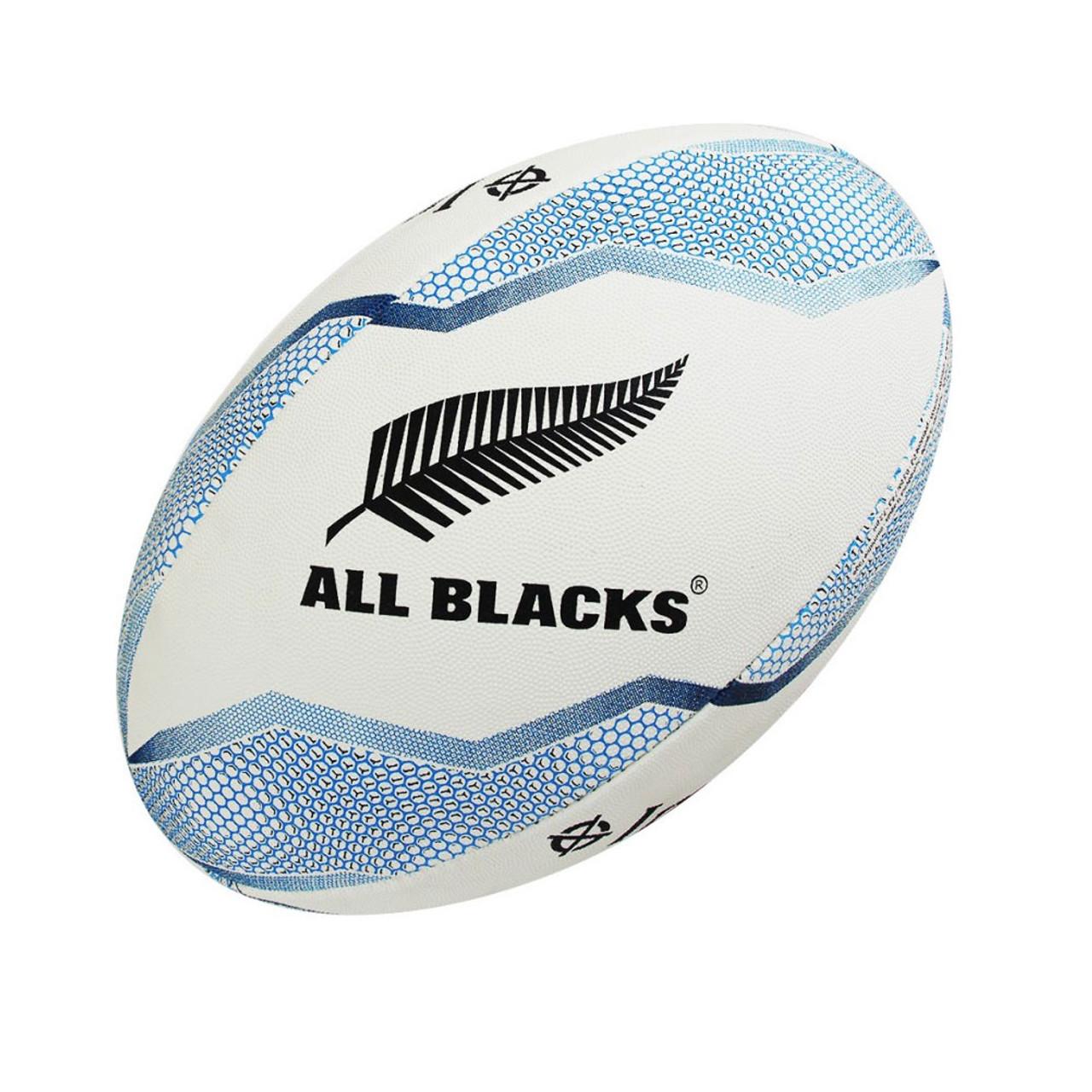 timeless design 5a42b 111d5 ADIDAS Replica All Blacks Rugby ball size 5 [white/blue]