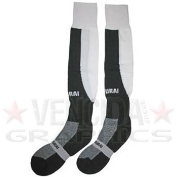 SAMURAI tri nations socks [black/white]