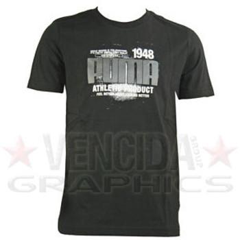 PUMA athletic t-shirt [black]