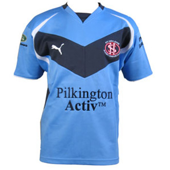 PUMA st helens rugby league away rugby shirt [sky]