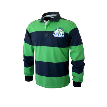 Mud and Glory Key West Florida Long Sleeved Rugby Shirt
