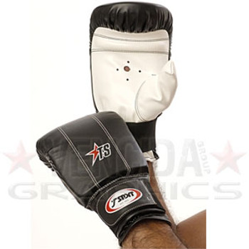 T-SPORT boxing bag gloves [black]