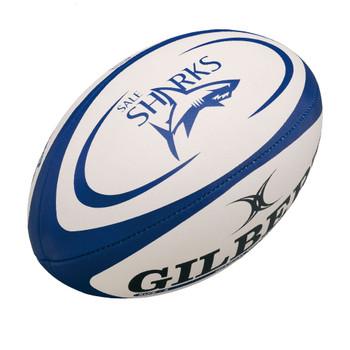 GILBERT sale sharks mini rugby ball