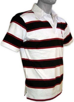 ULSTER rugby striped polo shirt