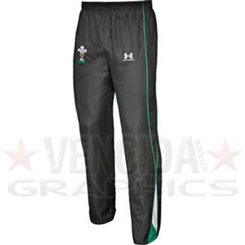 UNDER ARMOUR wales rugby warm-up pant jnr [black/green]