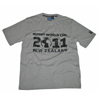 Rugby World Cup 2011 T-shirt [grey]