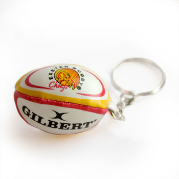 GILBERT exeter chiefs rugby ball key ring