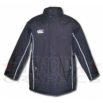 CCC stadium rugby coach's padded jacket [navy]