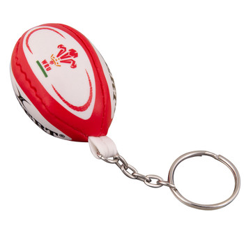 GILBERT wales rugby ball key ring
