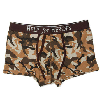 HELP FOR HEROES boxer trunk [desert camo]