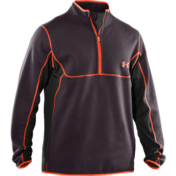 UNDER ARMOUR Extreme Cold Gear 1/4 Zip Top [charcoal]