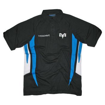 KOOGA Ospreys Rugby Polo Shirt