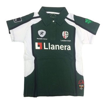 RUGBYTECH london irish ladies home rugby shirt - Ladies UK 10 - Womens UK 10