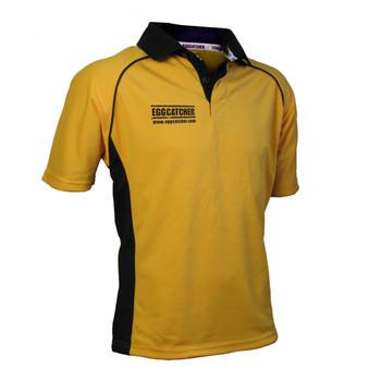 EGGCATCHER canberra match shirt junior [gold/black]