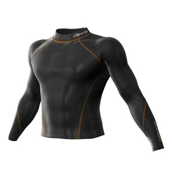 SKINS Snow Thermal Compression Long Sleeve Top with Mock Neck [black]