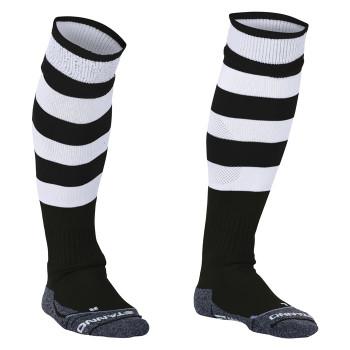 STANNO Original Hooped Socks [black/white] junior