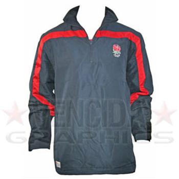 RFU england 1/4 zip micro fleece jacket