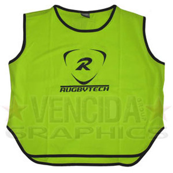 RUGBYTECH rugby training bib [lime]
