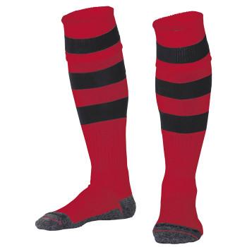 STANNO Original Hooped Socks [black/red] junior