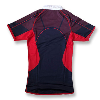 CCC international elite sublimate rugby jersey [navy/red]