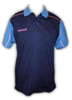 SAMURAI jersey knit 300g polo shirt