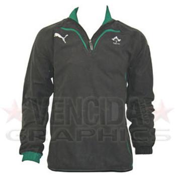 PUMA ireland 1/4 zip rugby fleece junior