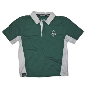 IRFU Short Sleeve Rugby Shirt Junior [green]
