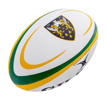 GILBERT northampton saints midi rugby ball