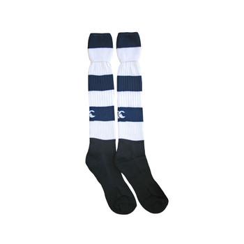 CCC hooped socks junior [navy/white]