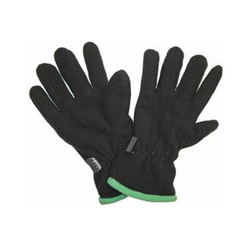 IRFU official Ireland Rugby fleece supporter gloves [black/green]