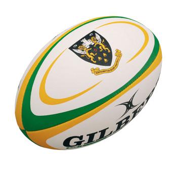 GILBERT Northampton Mini Rugby Ball