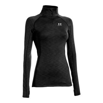 UNDER ARMOUR womens coldgear streaker 1/2 zip [black]